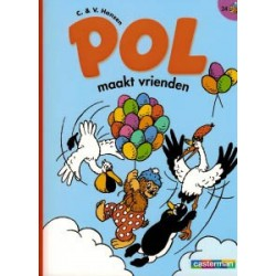 Pol B24<br>Maakt vrienden<br>herdruk als balloonstrip