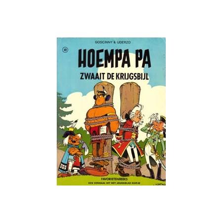 Hoempa Pa zwaait de krijgsbijl herdruk 1977 Favorietenreeks II 49 Helmond