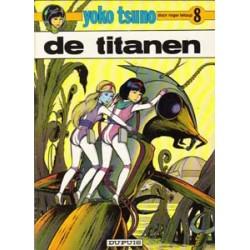 Yoko Tsuno<br>08 - De Titanen<br>herdruk