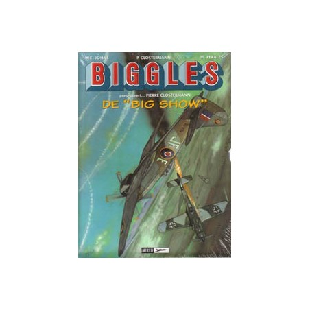 Biggles  cassette De Big Show Deel 1, 2 & 3 in schuifdoos