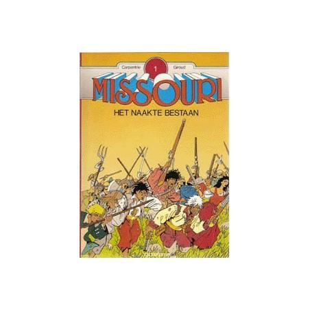 Missouri setje Deel 1 t/m 3 1e drukken 1989-1991