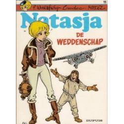 Natasja<br>11 - De weddenschap<br>1e druk 1985