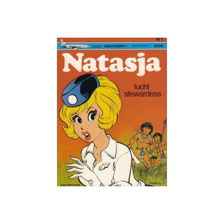 Natasja<br>01 - Luchtstewardess<br>herdruk