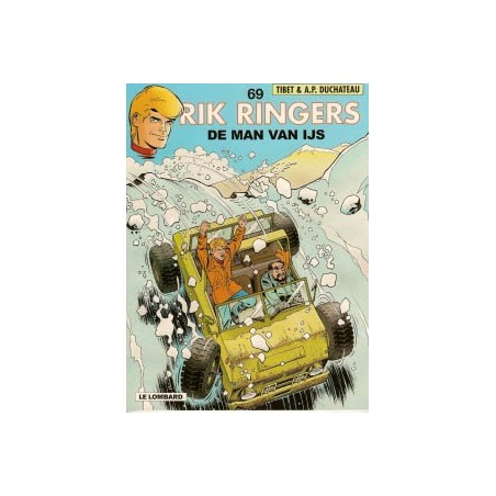 Rik Ringers  69 De man van ijs