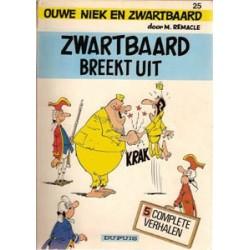Ouwe Niek en Zwartbaard 25<br>Breekt uit<br>1e druk 1983