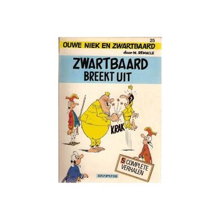 Ouwe Niek en Zwartbaard 25 Breekt uit 1e druk 1983