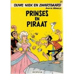 Ouwe Niek en Zwartbaard 21<br>Prinses en piraat<br>1e druk 1978