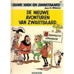 Ouwe Niek en Zwartbaard 20<br>Nieuwe avonturen<br>1e druk 1976