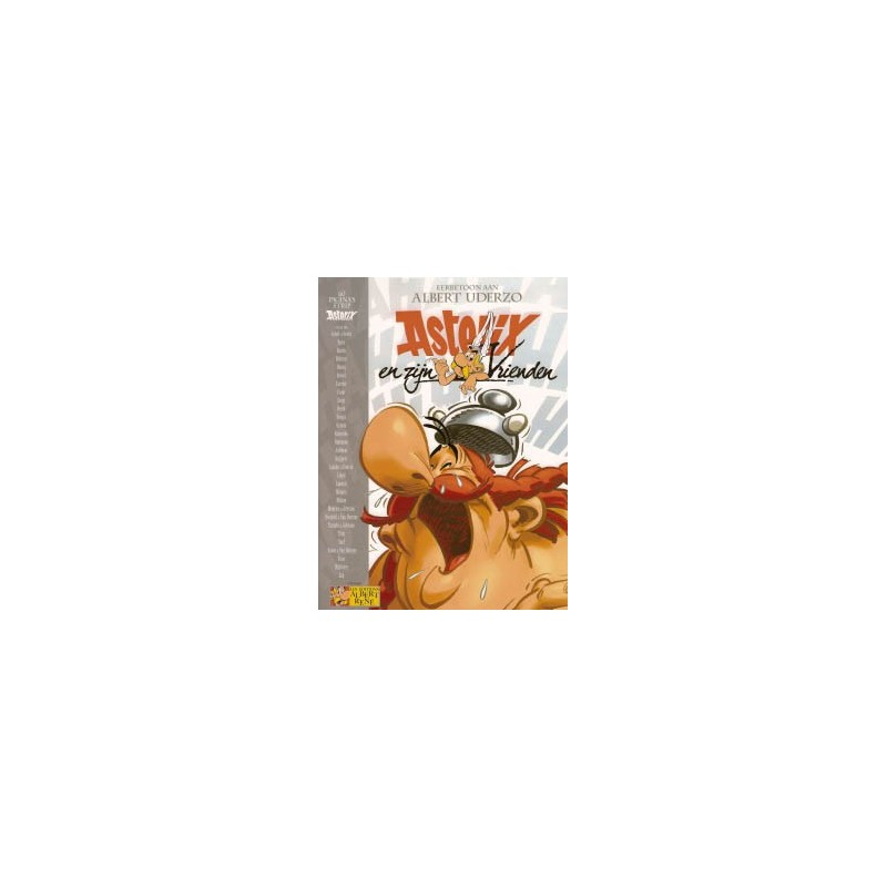 Asterix en zijn vrienden - Eerbetoon aan Albert Uderzo