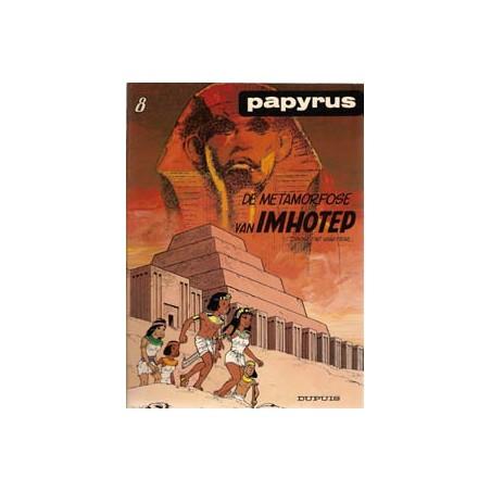Papyrus 08 - De metamorfose van Imhotep 1e druk 1985