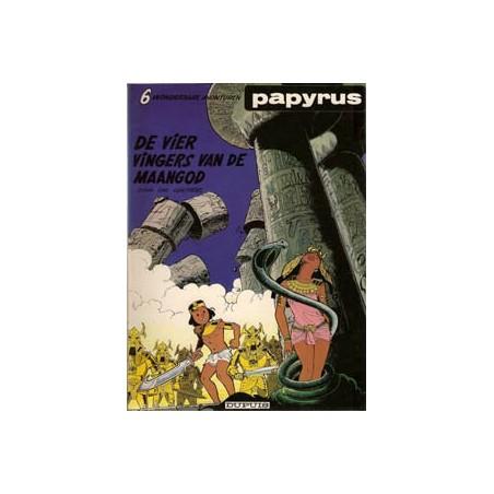 Papyrus 06% De vier vingers van de maangod 1e druk 1983