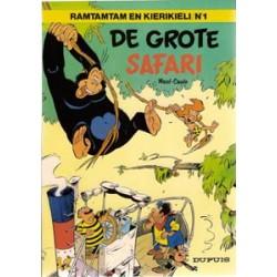 Ramtamtam en Kierikiele 01<br>De grote safari<br>1e druk 1979
