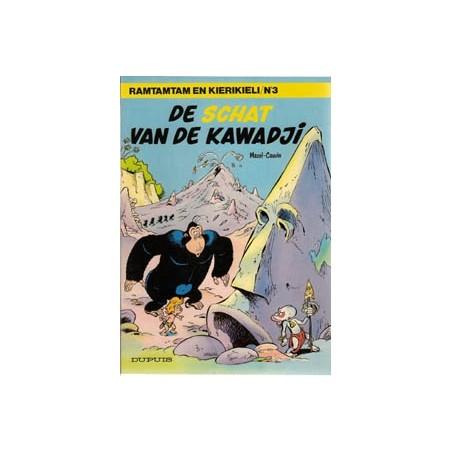 Ramtamtam en Kierikiele 03<br>De schat van de Kawadji<br>1e druk