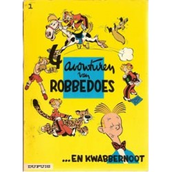 Robbedoes<br>01 - 4 Avonturen<br>herdruk 1970