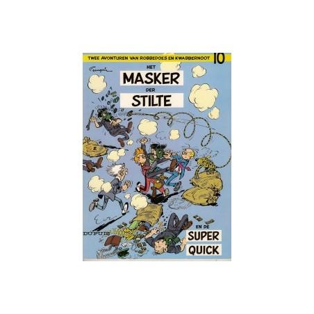 Robbedoes 10 Het masker der stilte herdruk 1970