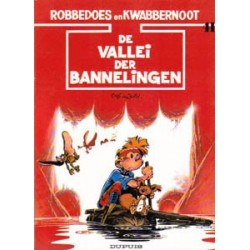 Robbedoes 41 - De vallei der bannelingen 1e druk 1989