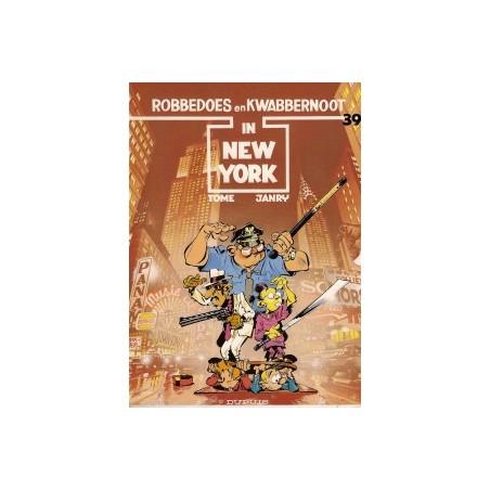 Robbedoes 39 In New York 1e druk 1987