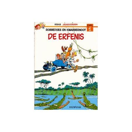 Robbedoes  setje Jeugdzonden Deel 1 & 2 herdrukken 1976