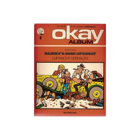 Okay album 01<br>Sammy Lijfwacht-verhalen<br>1e druk 1972