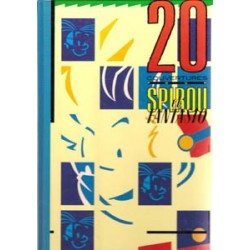 20 Couvertures pour Spirou et fantasio HC<br>1e druk 1987