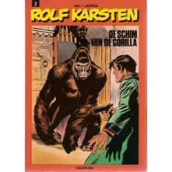 Rolf Karsten 02 De schim van de gorilla 1e druk 1977