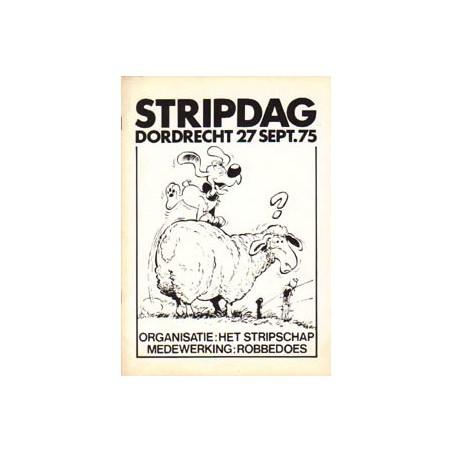 Stripdag Dordrecht programmaboekje 1975 Robbedoes
