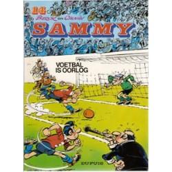 Sammy 14<br>Voetbal is oorlog<br>herdruk