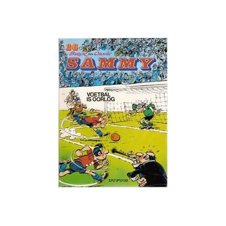 Sammy 14 Voetbal is oorlog herdruk