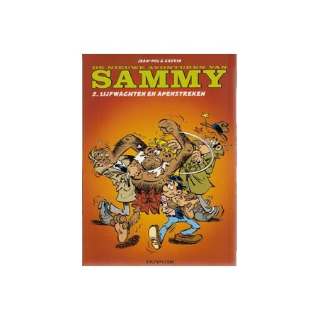 Sammy Nieuwe avonturen 02 Lijfwachten en apenstreken herdruk