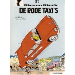 Steven Sterk 01 - De rode taxi's herdruk 1970