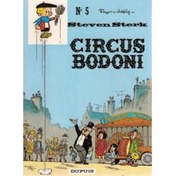 Steven Sterk<br>05 - Circus Bodoni<br>herdruk 1977