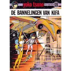 Yoko Tsuno<br>18 - De bannelingen van Kifa<br>1e druk 1991