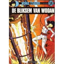 Yoko Tsuno<br>14 - De bliksem van Wodan<br>1e druk 1984