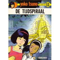 Yoko Tsuno<br>11 - De tijdpsiraal<br>1e druk 1981