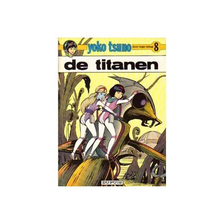 Yoko Tsuno 08 De titanen 1e druk 1978