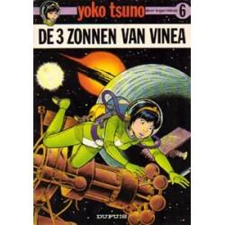 Yoko Tsuno<br>06 - De 3 zonnen van Vinea<br>1e druk 1976