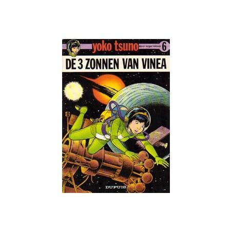 Yoko Tsuno 06 De 3 zonnen van Vinea 1e druk 1976