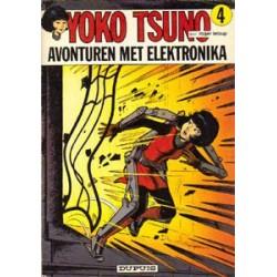 Yoko Tsuno<br>04 - Avonturen met elektronika<br>1e druk 1974