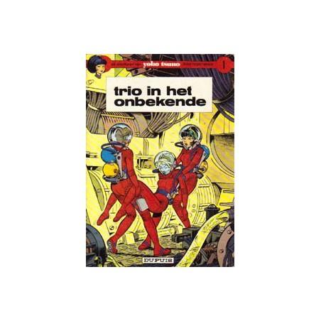 Yoko Tsuno 01% Trio in het onbekende 1e druk 1972 oorspronkelijk omslag