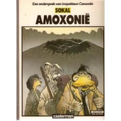 Inspekteur Canardo 05 SC<br>Amoxonie<br>1e druk 1986