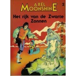 Axel Moonshine 02: Het rijk van de zwarte zonnen