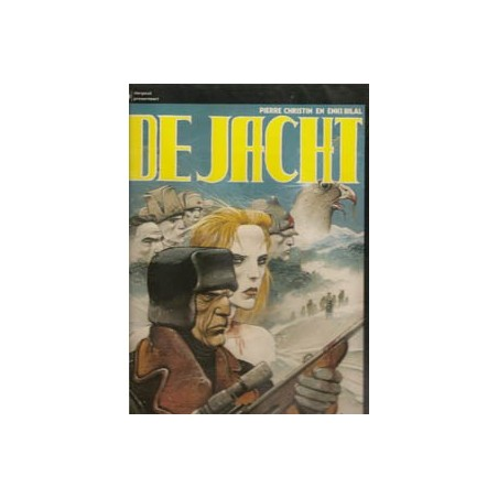 Bilal strips HC De jacht 2e druk 1986 Dargaud