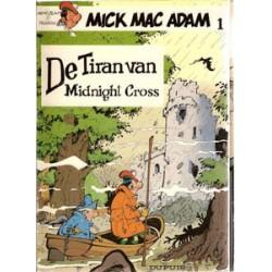 Mick Mac Adam<br>Dupuis setje deel 1 & 2<br>1e drukken 1982-1985