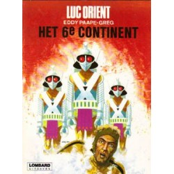 Luc Orient 10<br>Het 6e continent<br>herdruk Lombard