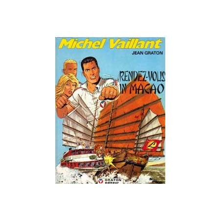 Michel Vaillant 43 Rendez-vous in Macao 1e druk 1983