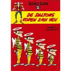 Lucky Luke<br>26 - De Daltons kopen zich vrij<br>herdruk