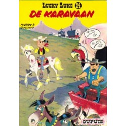 Lucky Luke<br>24# - De karavaan<br>herdruk