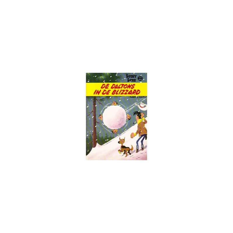 Lucky Luke 22 - De Daltons in de blizzard herdruk