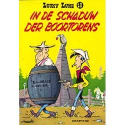Lucky Luke<br>18 - In de schaduw der boortorens<br>herdruk