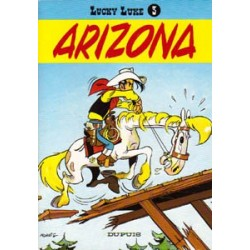 Lucky Luke<br>03 - Arizona<br>herdruk